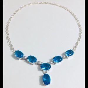 Jewelry - 💎🛍SWISS BLUE TOPAZ NECKLACE💙🎉